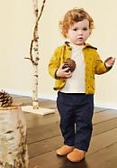 Hose aus Baumwolle mit Elasthan