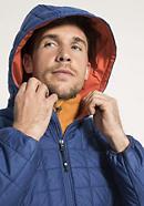 Innovative Stepp-Jacke Ripstop aus Bio-Baumwolle mit Schurwolle