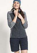 Jacke aus Bio-Merinowolle mit Bio-Baumwolle