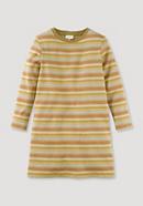 Jacquardkleid aus reiner Bio-Baumwolle