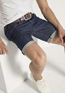 Jeans Bermuda aus reiner Bio-Baumwolle