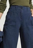 Jeans Culotte aus Hanf mit Bio-Baumwolle