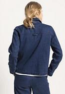 Jeansjacke aus Hanf mit Bio-Baumwolle