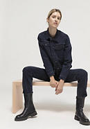 Jeansjacke aus reinem Bio-Denim