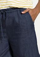 Jeansshorts aus reinem Bio-Denim