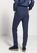 Jersey-Hose aus reiner Bio-Baumwolle