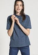 Karo-Shirt aus Bio-Baumwolle