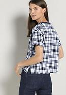 Karo-Shirt aus reiner Bio-Baumwolle