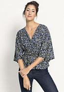 Kimono-Shirt aus reiner Bio-Baumwolle