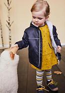 Kinder-Funktionsjacke aus reiner Bio-Baumwolle