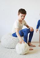 Kinder Halbarm-Hemd aus Bio-Merinowolle mit Seide