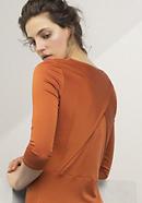 Kleid aus Baumwolle mit Seide