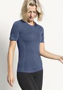 Kurzarm-Shirt aus Merinowolle