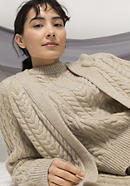 Limited by Nature cardigan made of pure Mongolian merino wool