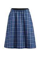 Linen midi skirt with organic cotton