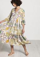 Maxi dress made of pure organic cotton