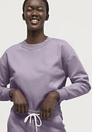 Mineral-dyed sweatshirt made of pure organic cotton