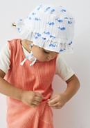 Muslin sun hat made from pure organic cotton