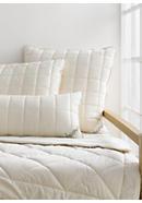 Organic virgin wool pillow