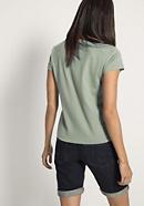 Pflanzengefärbtes Kurzarm-Shirt aus reiner Bio-Baumwolle