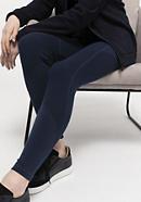 Premium leggings made from organic merino wool