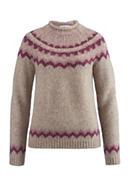 Pullover aus Alpaka mit Baumwolle, Schurwolle und Seide