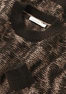 Pullover aus Alpaka mit Mongolen-Merino