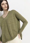 Pullover aus Leinen mit Bio-Baumwolle