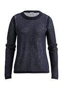 Pullover aus Schurwolle mit Bio-Baumwolle