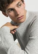 Pullover aus Schurwolle mit Yak und Baumwolle