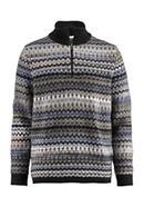 Pullover aus Shetland- und Merinowolle