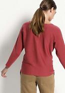 Pullover aus pflanzengefärbter Bio-Merinowolle