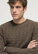Pullover aus reinem Yak