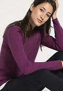 Pullover aus reiner pflanzengefärbter Bio-Merinowolle
