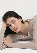 PureMIX long-sleeved shirt made of organic new wool with silk