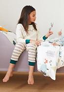 Pyjama für Jungs aus reiner Bio-Baumwolle
