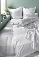 Renforcé-Bettwäsche Zen aus reiner Bio-Baumwolle