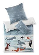 Renforcé-Bettwäsche für Kinder aus reiner Bio-Baumwolle