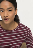 Rib shirt made from pure organic cotton