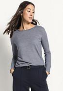Ringel-Pullover aus reiner Bio-Baumwolle