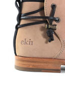 Rosewood / Salmon Suede