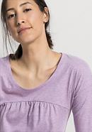 Schlaf-Shirt aus reiner Bio-Baumwolle