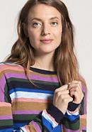 Streifen-Pullover aus reiner Bio-Baumwolle