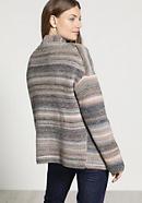 Strickjacke aus Schurwolle mit Alpaka