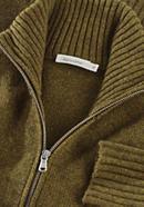 Strickjacke aus Yak und Schurwolle