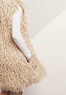 Strickweste aus reiner Merinowolle