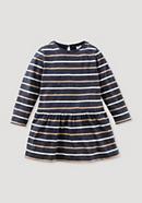 Striped dress made of pure organic cotton
