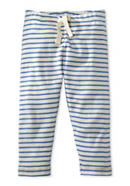 Striped pants made of pure organic cotton