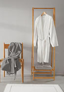 Super soft bathrobe made from pure organic terrycloth
