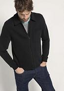 Sweat-Jacke aus reiner Bio-Baumwolle